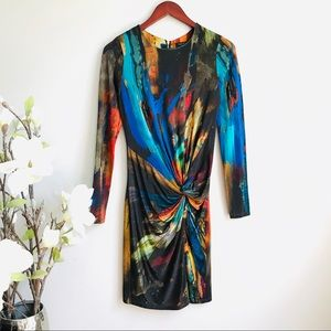 Ted Baker Talala dress in watercolor prints - 385
